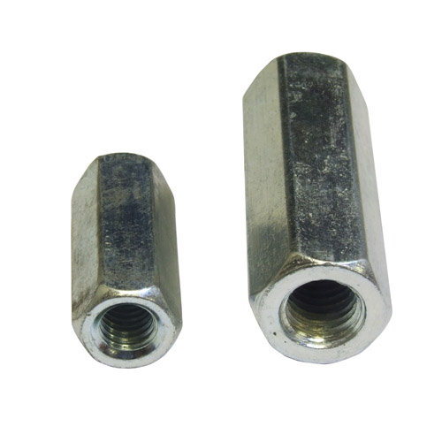 Threaded Rod Coupling Nut Zinc Plated