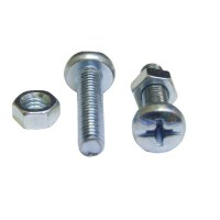 Machine Screw and Nut Cheesehead